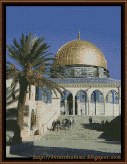 Kristik Dome of the Rock II (17 color of DMC)