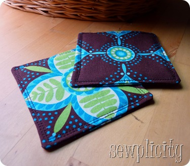 Finished 2 coasters