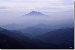 塔の岳から富士山♪