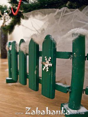 Паркан для новорічної ялинки