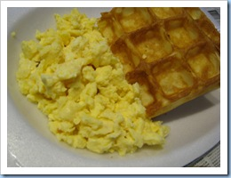 Waffles & Eggs Meal