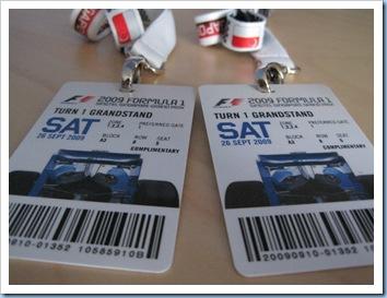 F1 2009 Pass