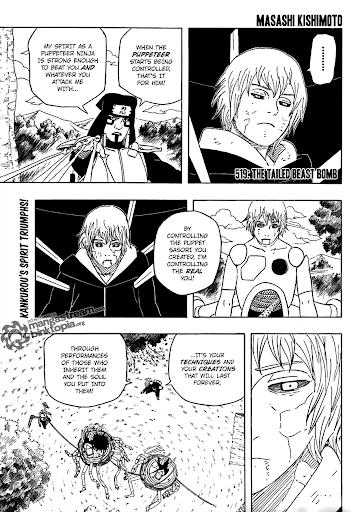 Naruto Manga 518