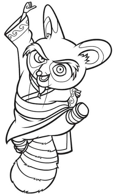 Desenhos kung fu panda colorir e aprender - Dessin kung fu panda ...