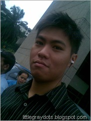 Camwhore during fire drill ...