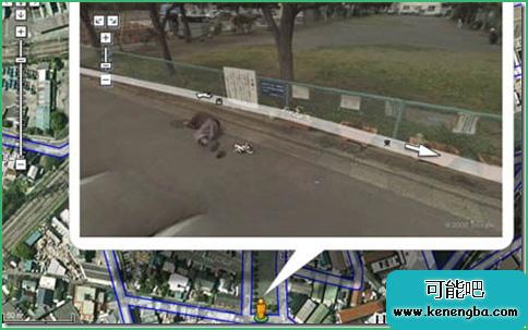 Google街景地图上的有趣照片(www.kenengba.com)