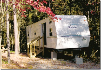 Standard Rental RV at Lake Rudolph Campground & RV Resort