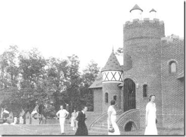 Santa's Candy Castle - 1930's Exterior
