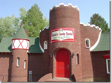 Santa's Candy Castle - Present Day Exterior