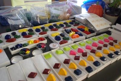 MyKangaroo: The Jewel Crayon set