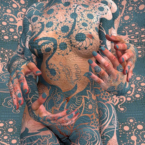 Body Painting Wallpaper