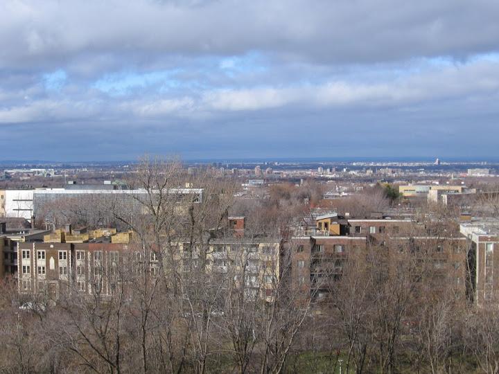 La ville vue de lUniversité