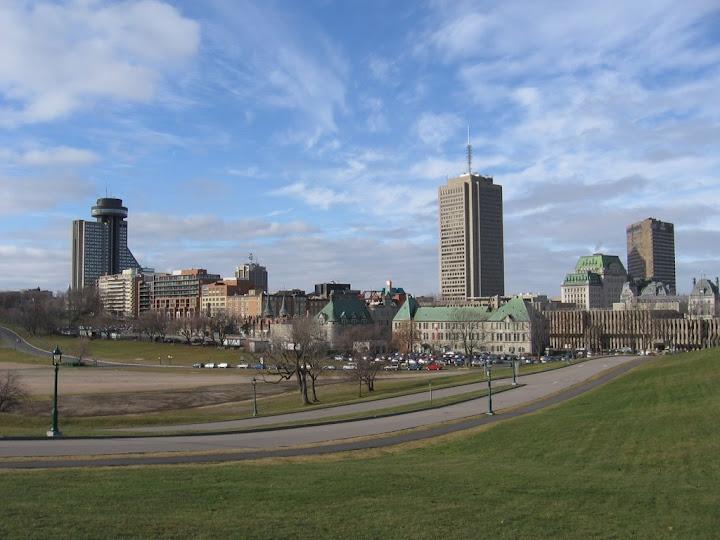 Québec vue de la citadelle