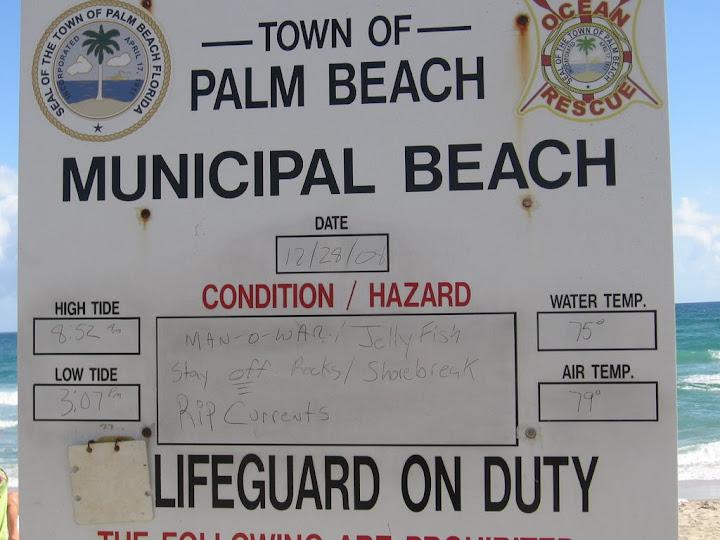 Arrivée à Palm Beach