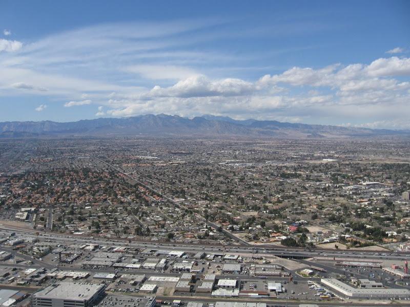 Las Vegas vue de la Stratosphère