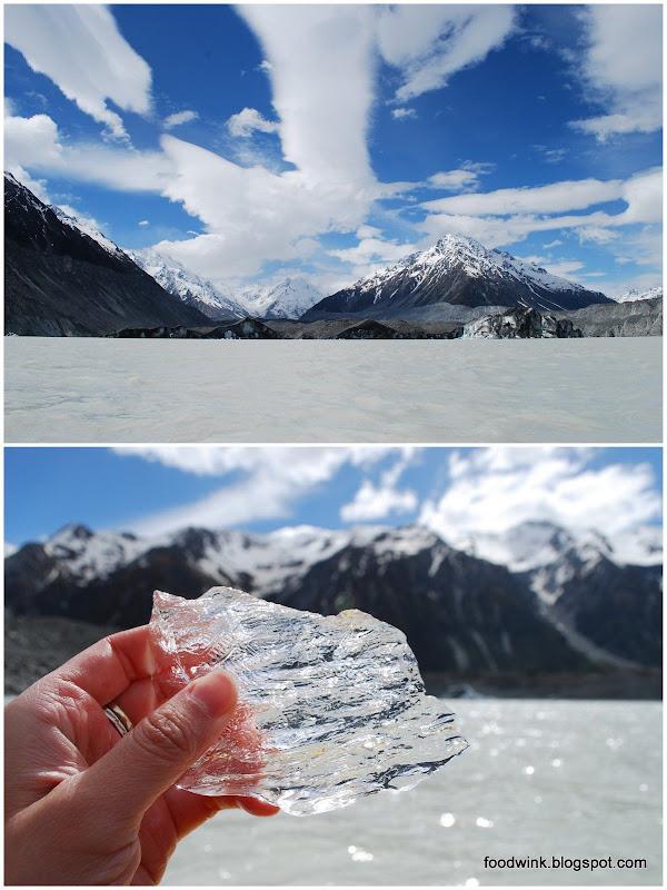 glacier mount cook tasman glacier