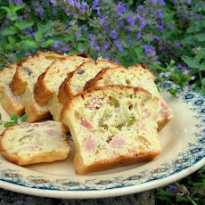 Oooh La La! French Savoury Ham, Cheese and Olive Cake