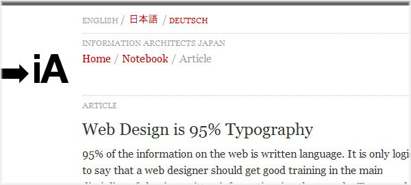 Web-Design-is-95%-Typography