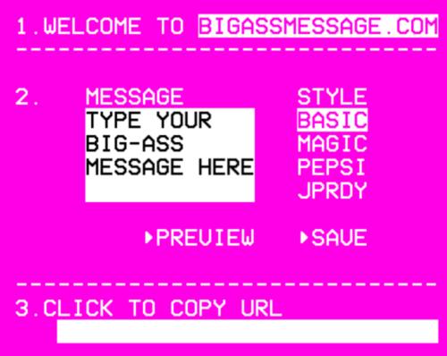 bigassmessage
