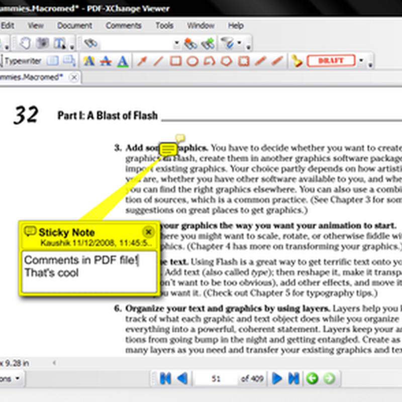 Add annotations to a PDF file with PDF-XChange Viewer