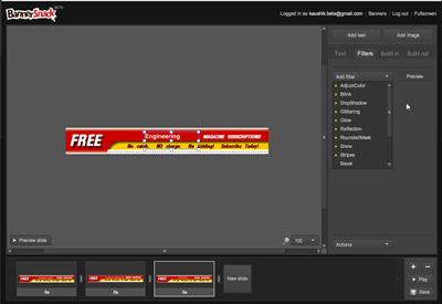 Banner Snack – Free online flash banner maker - Instant Fundas