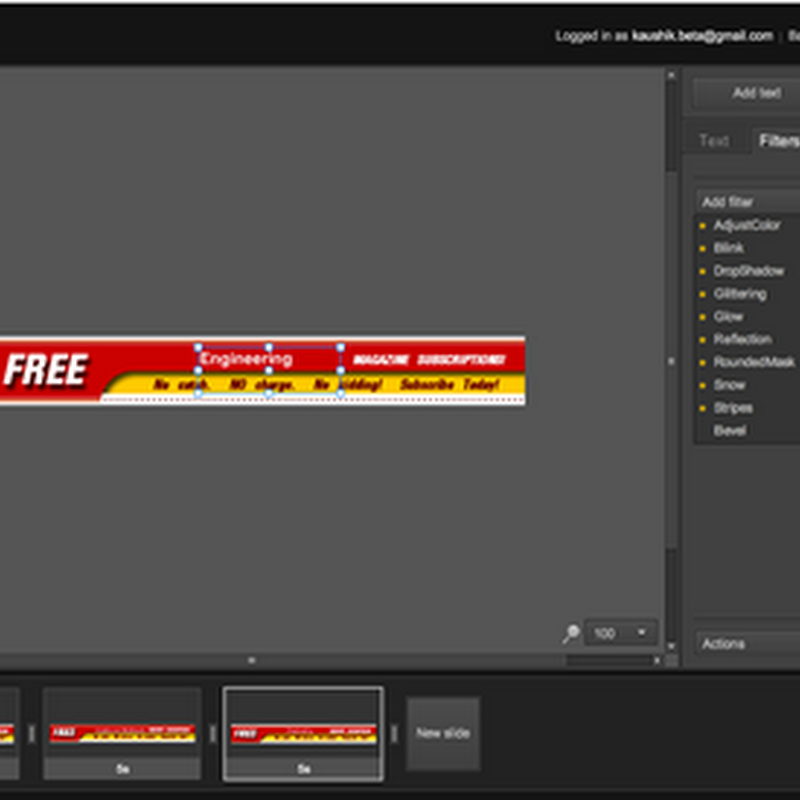 Banner Snack – Free online flash banner maker