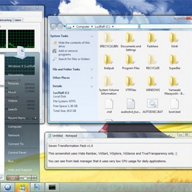 Windows Seven Transformation Pack for Windows XP