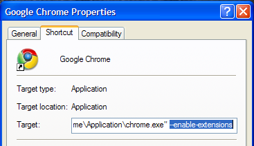 chrome-properties