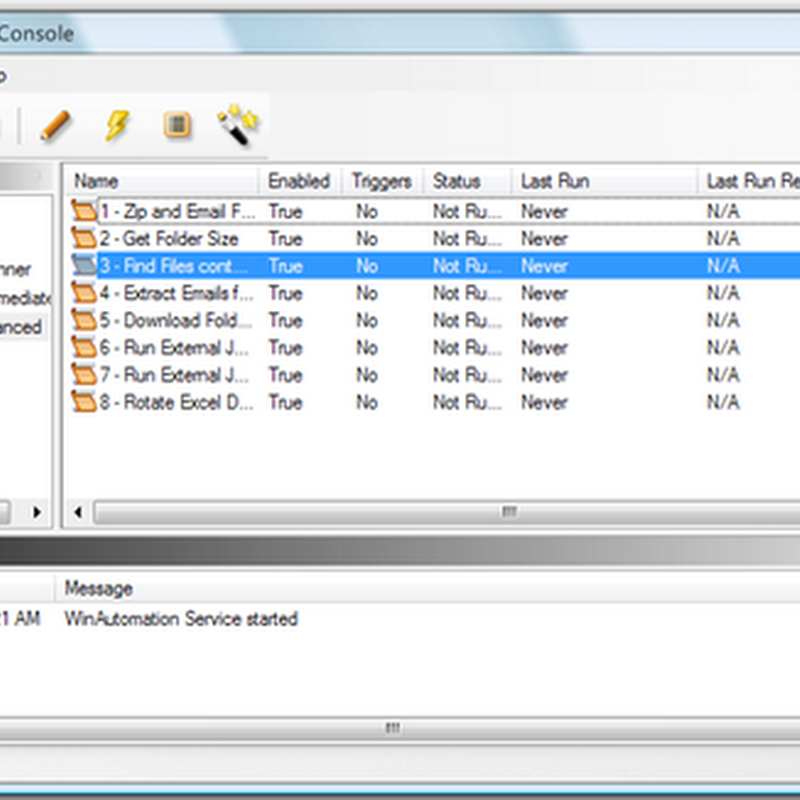 Free licenses giveaway of WinAutomation, a powerful task automation tool and macro recorder