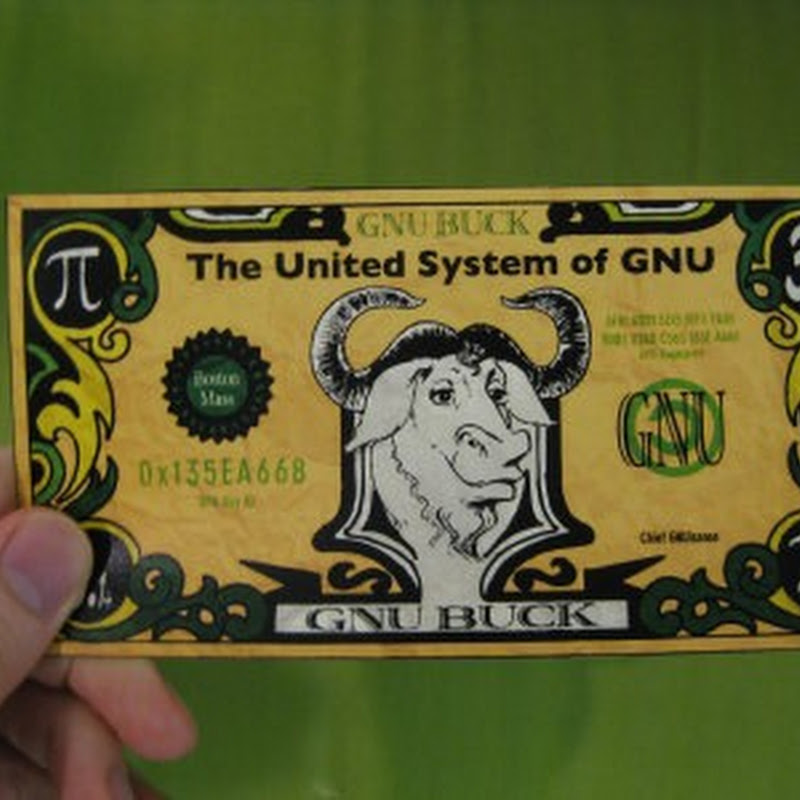 "Find non-free works in Linux distributions and earn ""GNU Cash"""