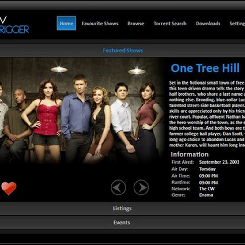 TVTrigger - TV shows information, downloads and more