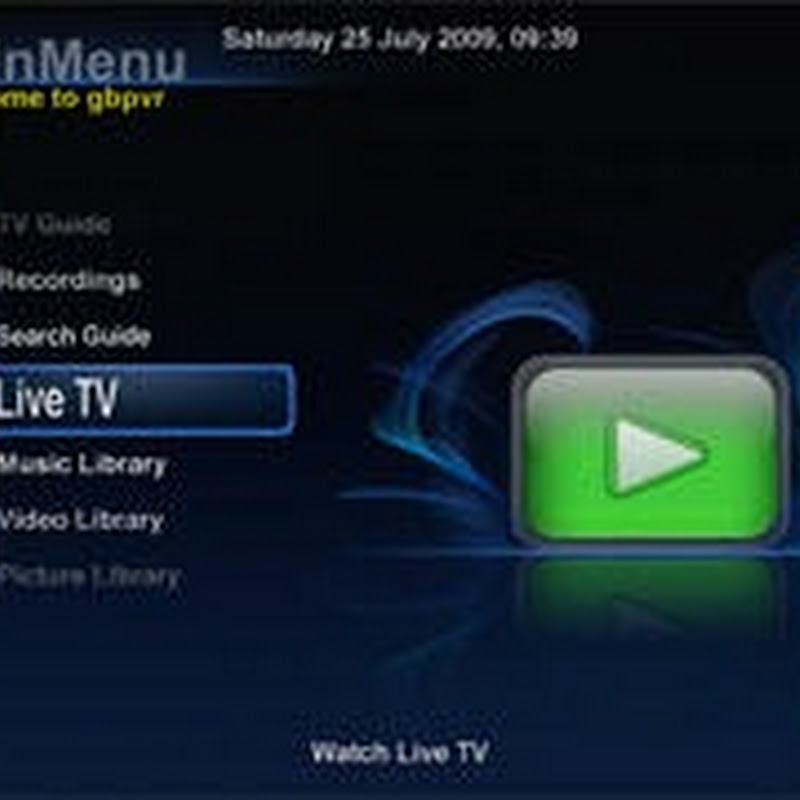 GB-PVR – Media Center and Personal Video Recorder