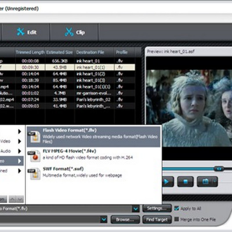 Free download iSkysoft FLV Converter for Windows