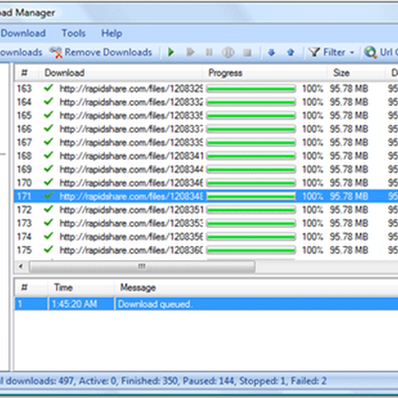 Widestream  Open source download manager and FTP explorer