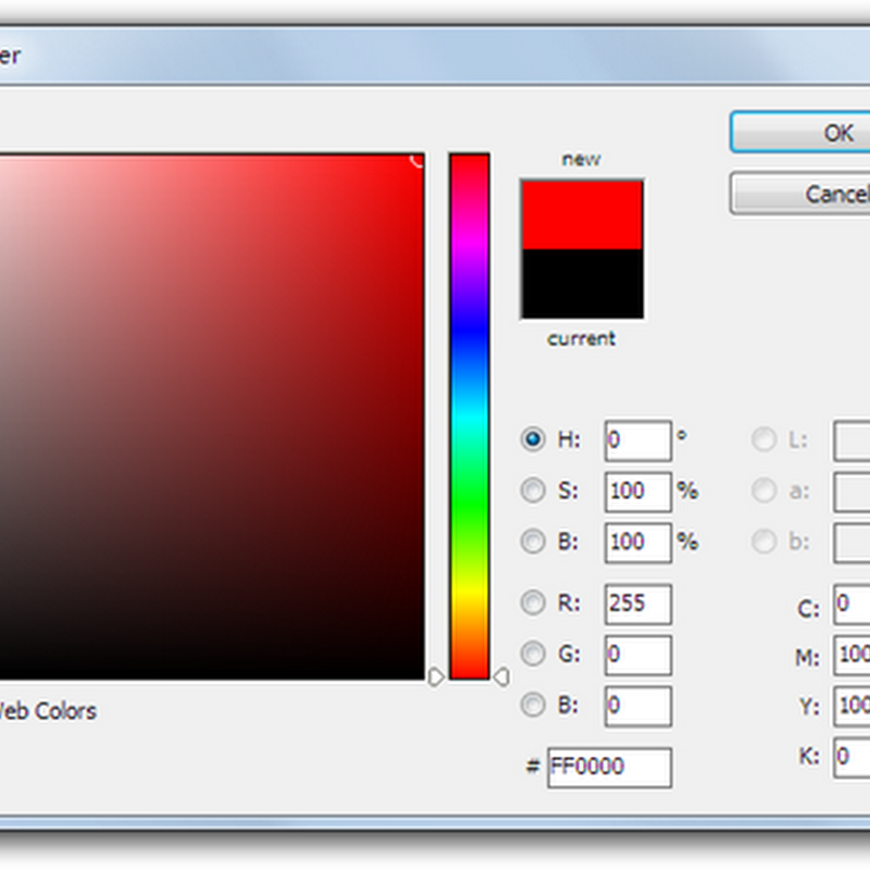 Standalone Photoshop-like Color Picker