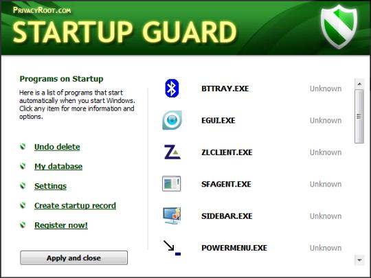 startup-guard