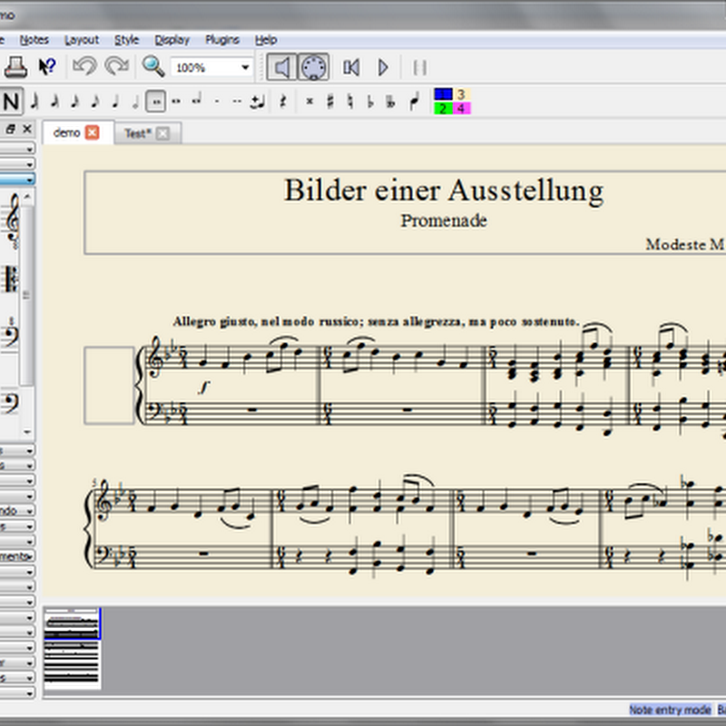 6 free music notation software or scorewriters for Windows (and Linux)
