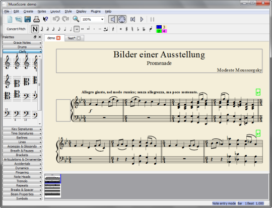 free online music writing software