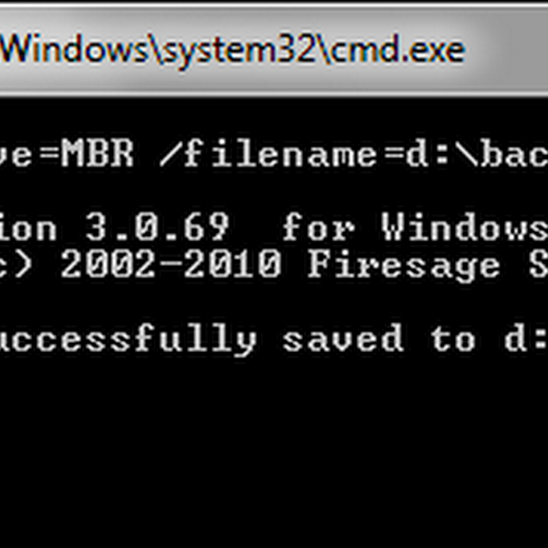 Backup and restore Windows MBR with MBRWizard