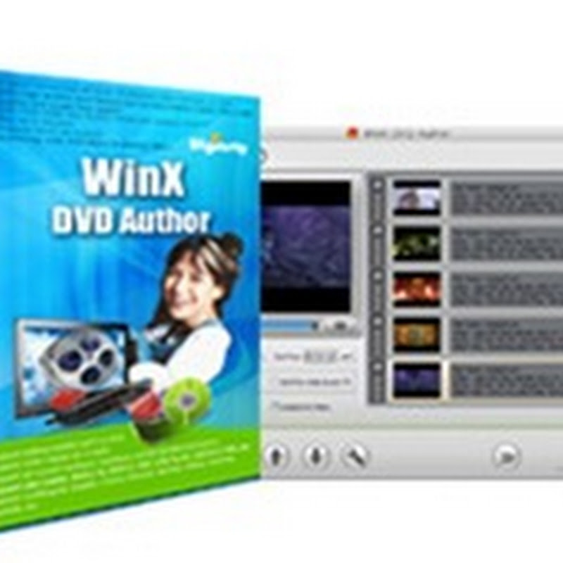 WinX DVD Author available for free for a limited time