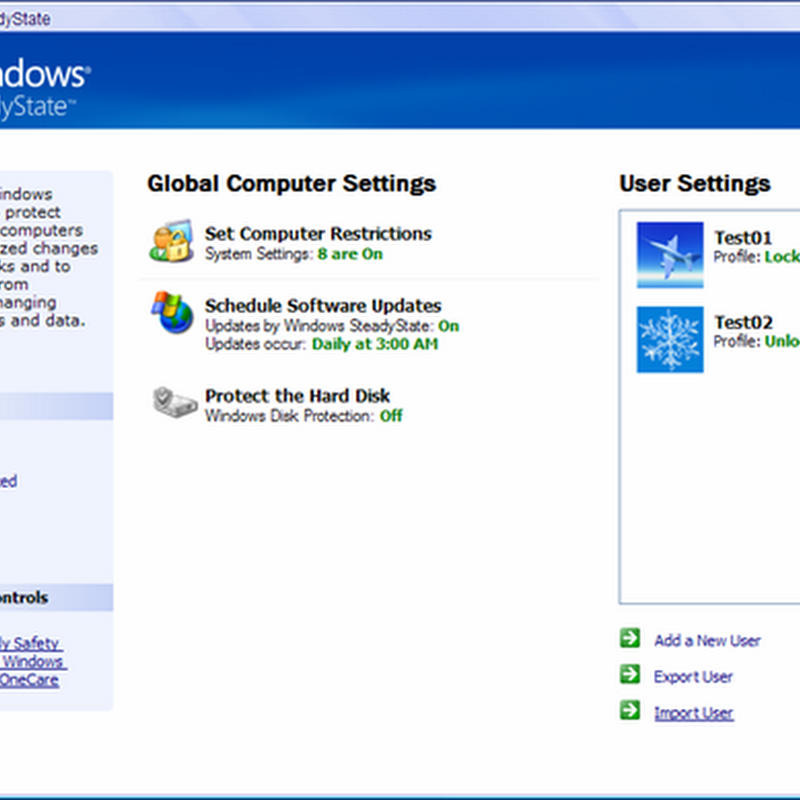 5 alternatives to Windows SteadyState for Windows 7