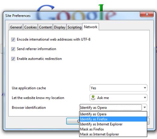 Make Google Instant work in Opera