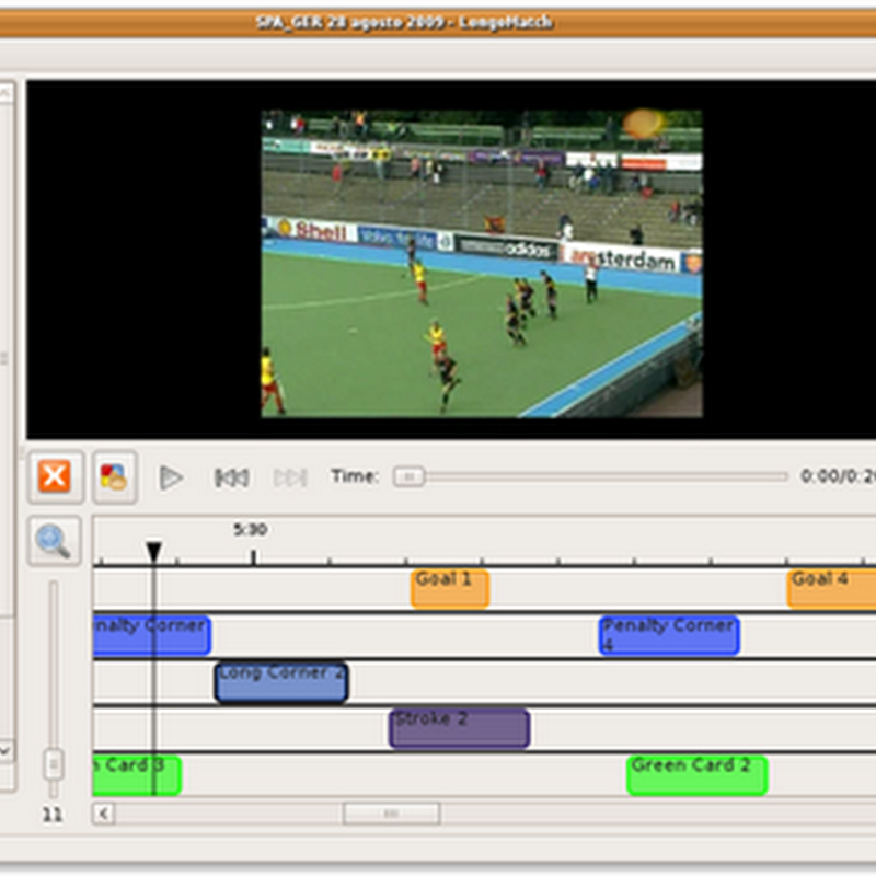 LongoMatch: Free sports video analysis software