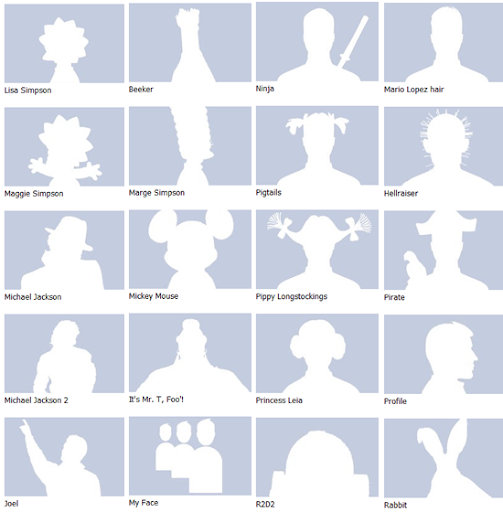 69 alternatives to the default Facebook profile picture