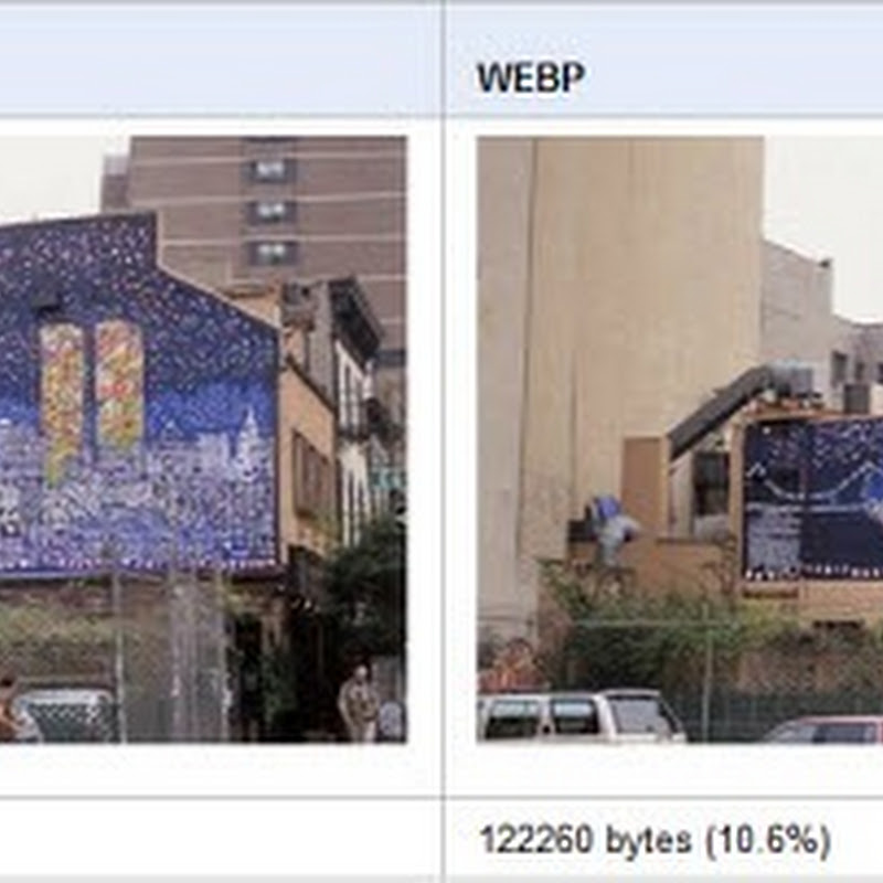 Google proposes an alternative to JPEG – WebP
