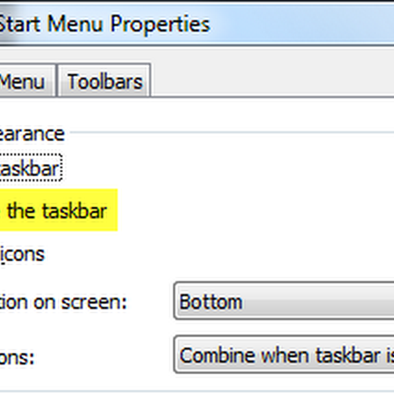 How to hide or make Windows 7 taskbar invisible
