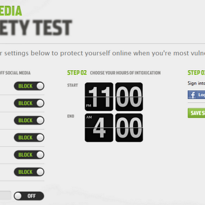 Social Media Sobriety Test prevents drunk updates on Facebook, Twitter and more
