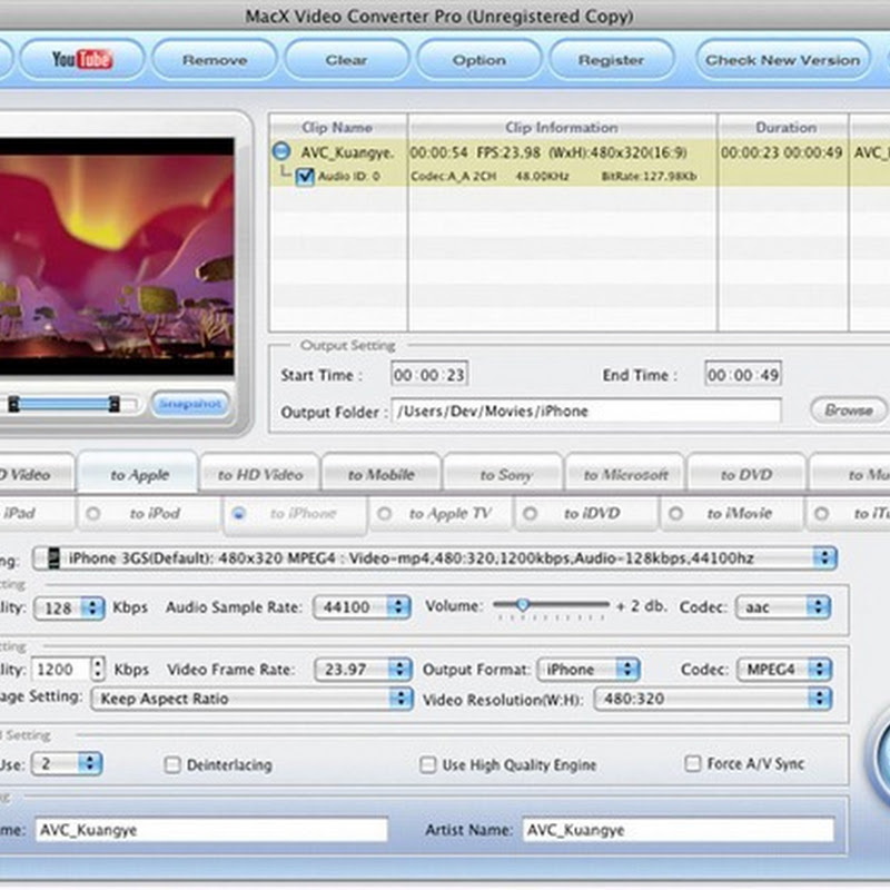 MacX Video Converter Pro Free license keys (Windows and Mac)