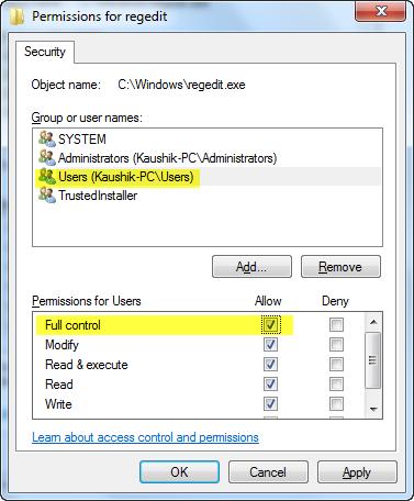 regedit-fullcontrol