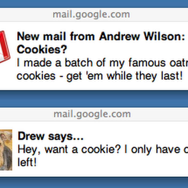 Gmail Desktop Notifications in Chrome